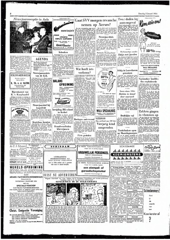 Rotterdamsch Parool / De Schiedammer 1954
