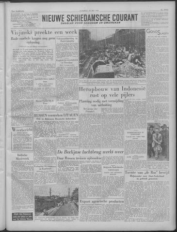 Nieuwe Schiedamsche Courant 1949-05-28