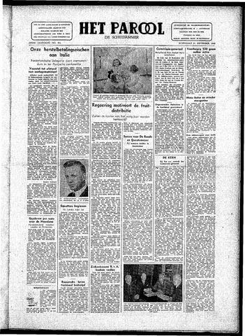 Rotterdamsch Parool / De Schiedammer 1946-09-11