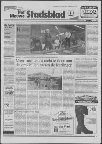 Het Nieuwe Stadsblad 2000-10-11