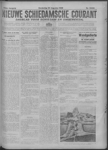 Nieuwe Schiedamsche Courant 1929-08-22
