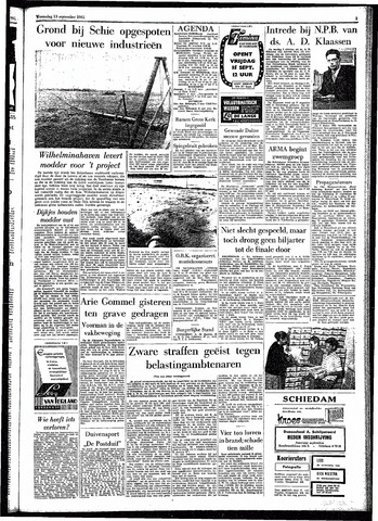 Rotterdamsch Parool / De Schiedammer 1961-09-13