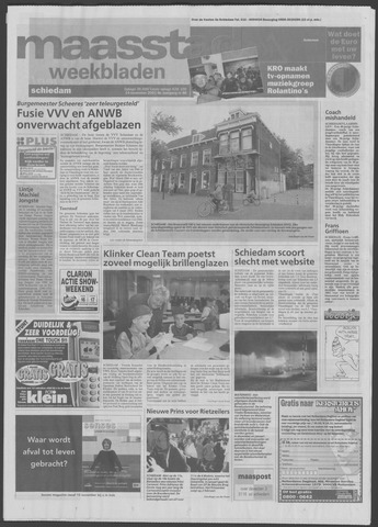 Maaspost / Maasstad / Maasstad Pers 2001-11-14