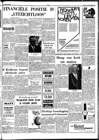Trouw / De Rotterdammer 1966-11-22
