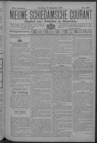 Nieuwe Schiedamsche Courant 1917-09-29