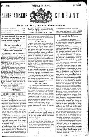 Schiedamsche Courant 1879-04-11