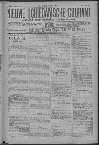 Nieuwe Schiedamsche Courant 1918-07-06