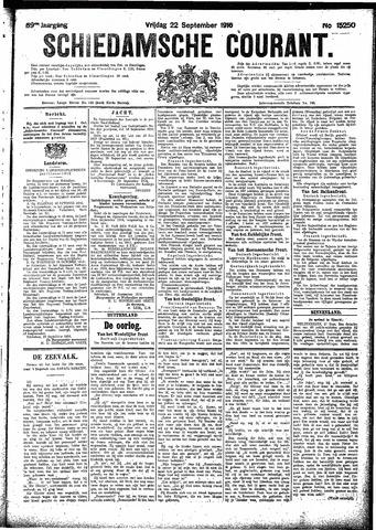 Schiedamsche Courant 1916-09-22