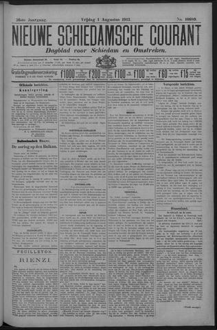 Nieuwe Schiedamsche Courant 1913-08-01