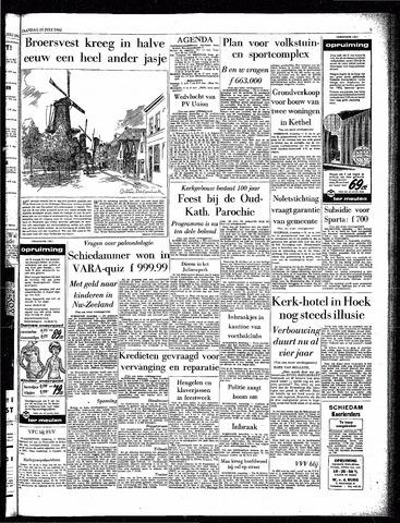 Rotterdamsch Parool / De Schiedammer 1962-07-23
