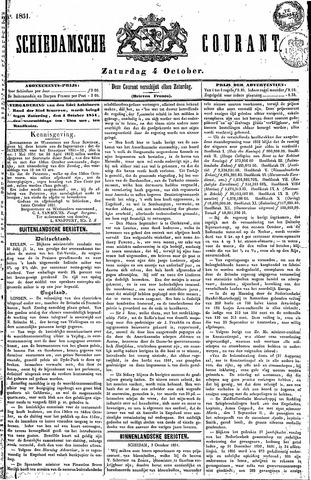 Schiedamsche Courant 1851-10-04