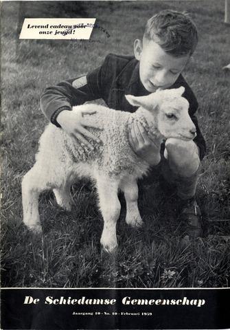 Schiedamse Gemeenschap (tijdschrift) 1959