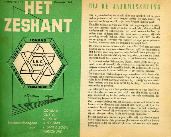 Het Zeskant 1947-12-01