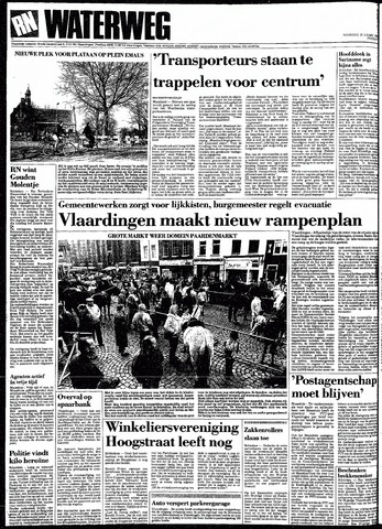 Rotterdamsch Nieuwsblad / Schiedamsche Courant / Rotterdams Dagblad / Waterweg / Algemeen Dagblad 1991-03-25