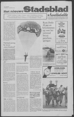 Het Nieuwe Stadsblad 1968-08-21