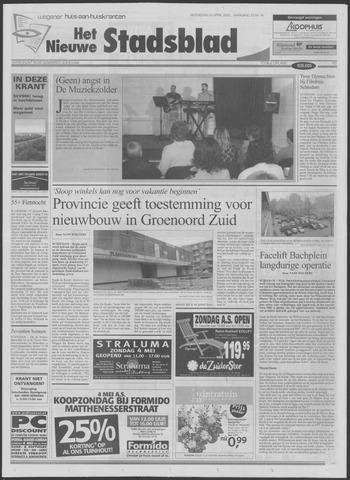 Het Nieuwe Stadsblad 2003-04-30