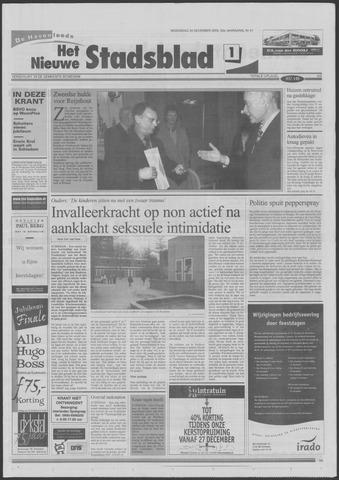 Het Nieuwe Stadsblad 2000-12-20