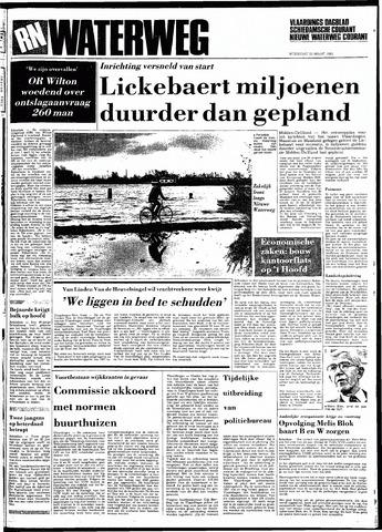 Rotterdamsch Nieuwsblad / Schiedamsche Courant / Rotterdams Dagblad / Waterweg / Algemeen Dagblad 1983-03-23