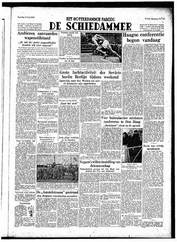 Rotterdamsch Parool / De Schiedammer 1948-07-19