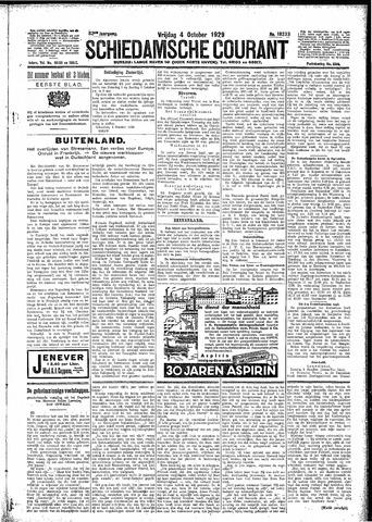 Schiedamsche Courant 1929-10-04