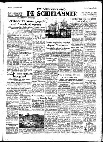 Rotterdamsch Parool / De Schiedammer 1948-12-15