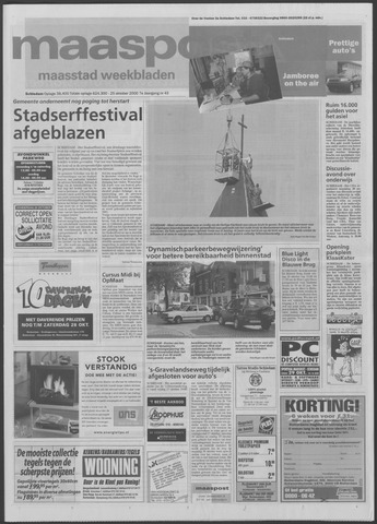 Maaspost / Maasstad / Maasstad Pers 2000-10-25