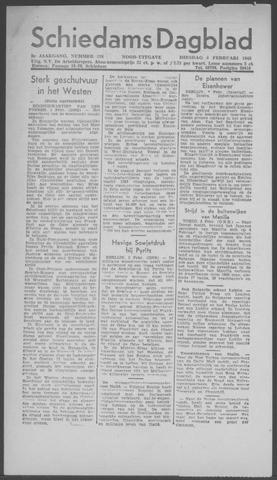 Schiedamsch Dagblad 1945-02-06