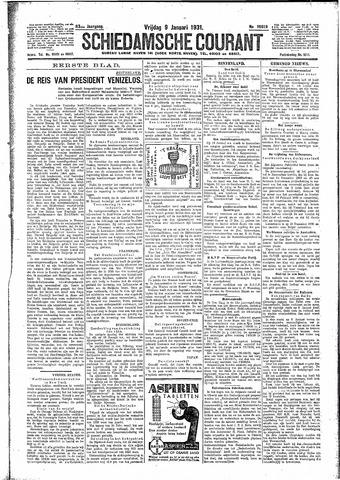 Schiedamsche Courant 1931-01-09