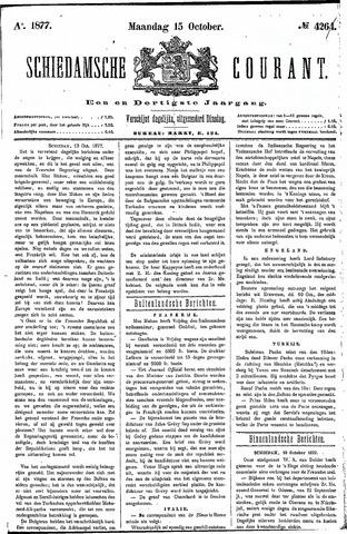 Schiedamsche Courant 1877-10-15
