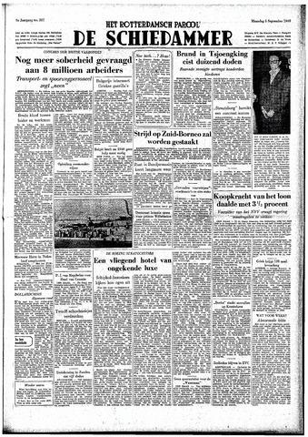 Rotterdamsch Parool / De Schiedammer 1949-09-05