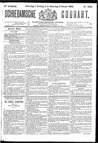 Schiedamsche Courant 1898-01-03