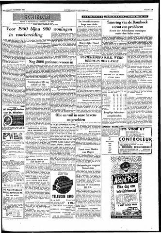 Rotterdamsch Nieuwsblad / Schiedamsche Courant / Rotterdams Dagblad / Waterweg / Algemeen Dagblad 1959-12-02