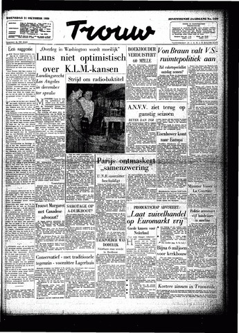 Trouw / De Rotterdammer 1959-10-21