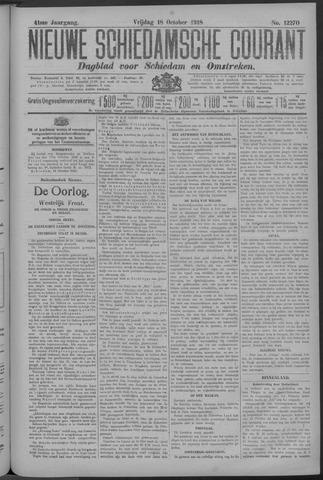 Nieuwe Schiedamsche Courant 1918-10-18