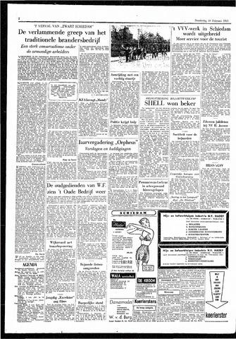 Rotterdamsch Parool / De Schiedammer 1955-02-10