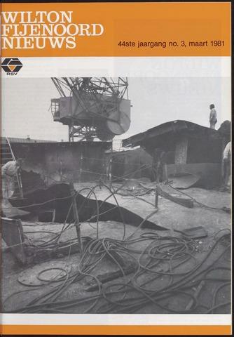 Wilton Fijenoord Nieuws 1981-03-01