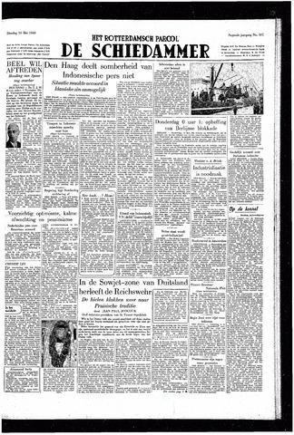 Rotterdamsch Parool / De Schiedammer 1949-05-10