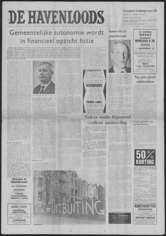 De Havenloods 1969-01-09