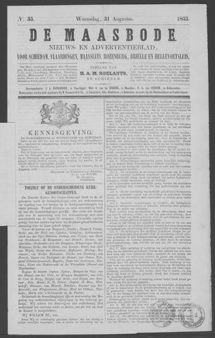 De Maasbode 1853-08-31
