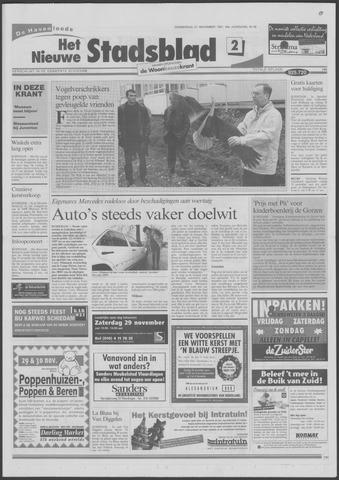 Het Nieuwe Stadsblad 1997-11-27