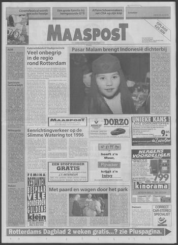 Maaspost / Maasstad / Maasstad Pers 1995-10-18