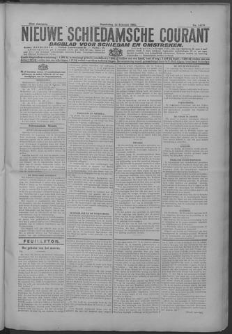 Nieuwe Schiedamsche Courant 1925-02-19