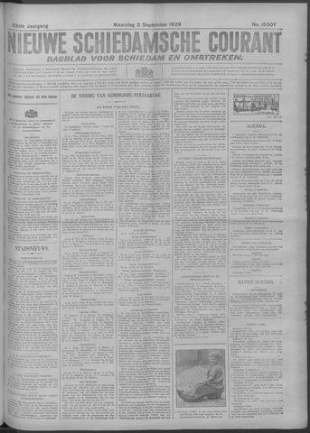 Nieuwe Schiedamsche Courant 1929-09-02