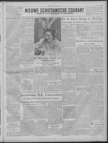 Nieuwe Schiedamsche Courant 1949-04-29