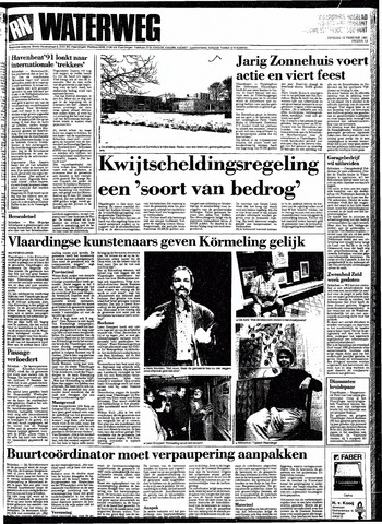 Rotterdamsch Nieuwsblad / Schiedamsche Courant / Rotterdams Dagblad / Waterweg / Algemeen Dagblad 1991-02-12