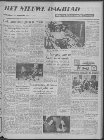 Nieuwe Schiedamsche Courant 1961-11-30