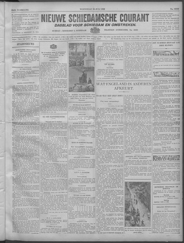 Nieuwe Schiedamsche Courant 1932-07-20