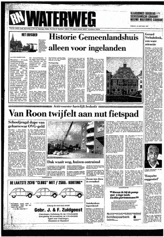 Rotterdamsch Nieuwsblad / Schiedamsche Courant / Rotterdams Dagblad / Waterweg / Algemeen Dagblad 1987-10-16