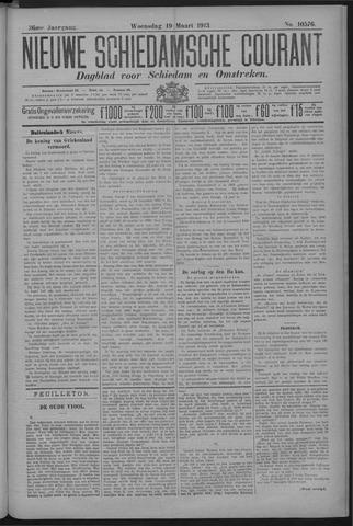 Nieuwe Schiedamsche Courant 1913-03-19