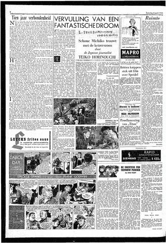 Rotterdamsch Parool / De Schiedammer 1959-04-04